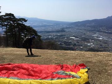 4月14日(金)1500mくらいまで上がりました。