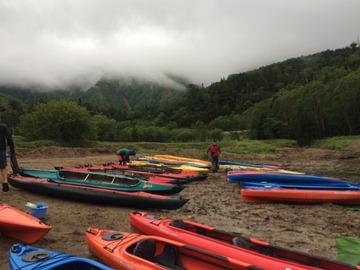 7月7日(木)菅沼カヌー体験でした。