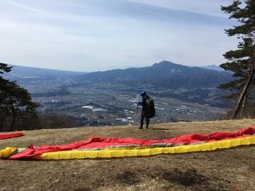 4月10日(月)1500mまで上がりました。