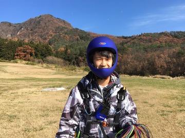 11月26日(日)2人初飛びできました。