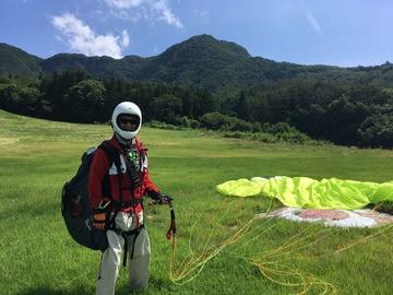 7月19日(水)初飛びできました。