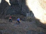第一キレットから登る