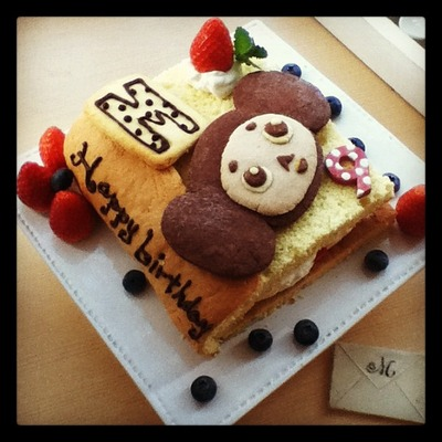 ちぇぶケーキ