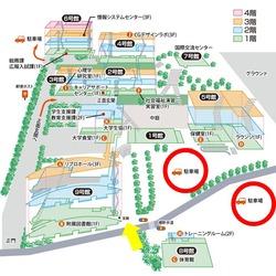160824  長野大駐車場