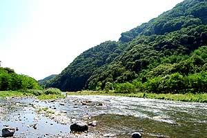 釜無川の川原