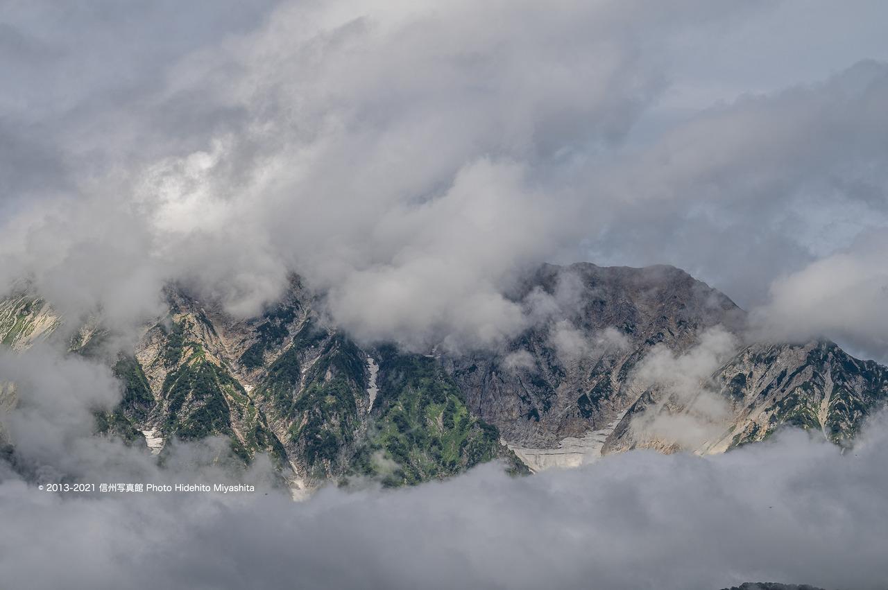 雲間の杓子岳20210821-DSC_7865