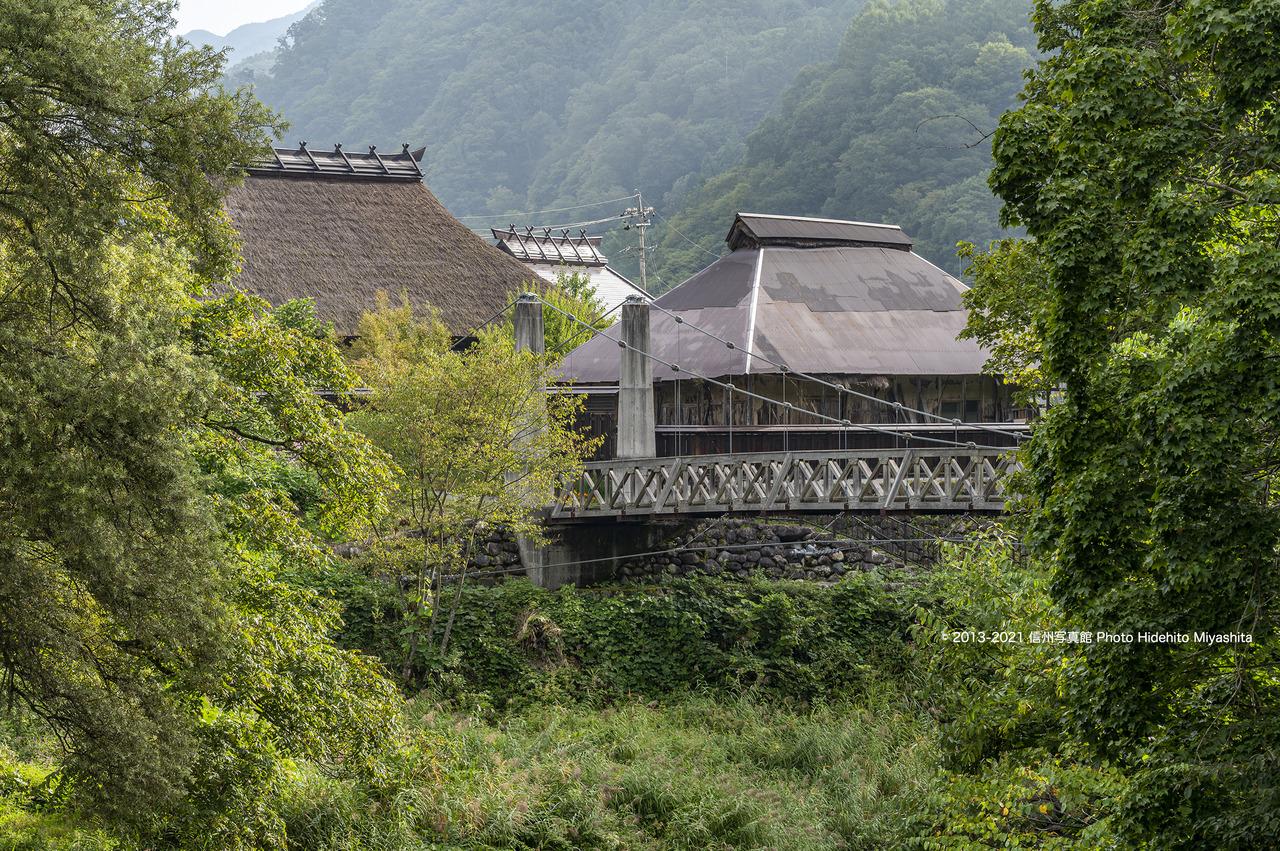 大出の吊橋と古民家20210912-DSC_9628