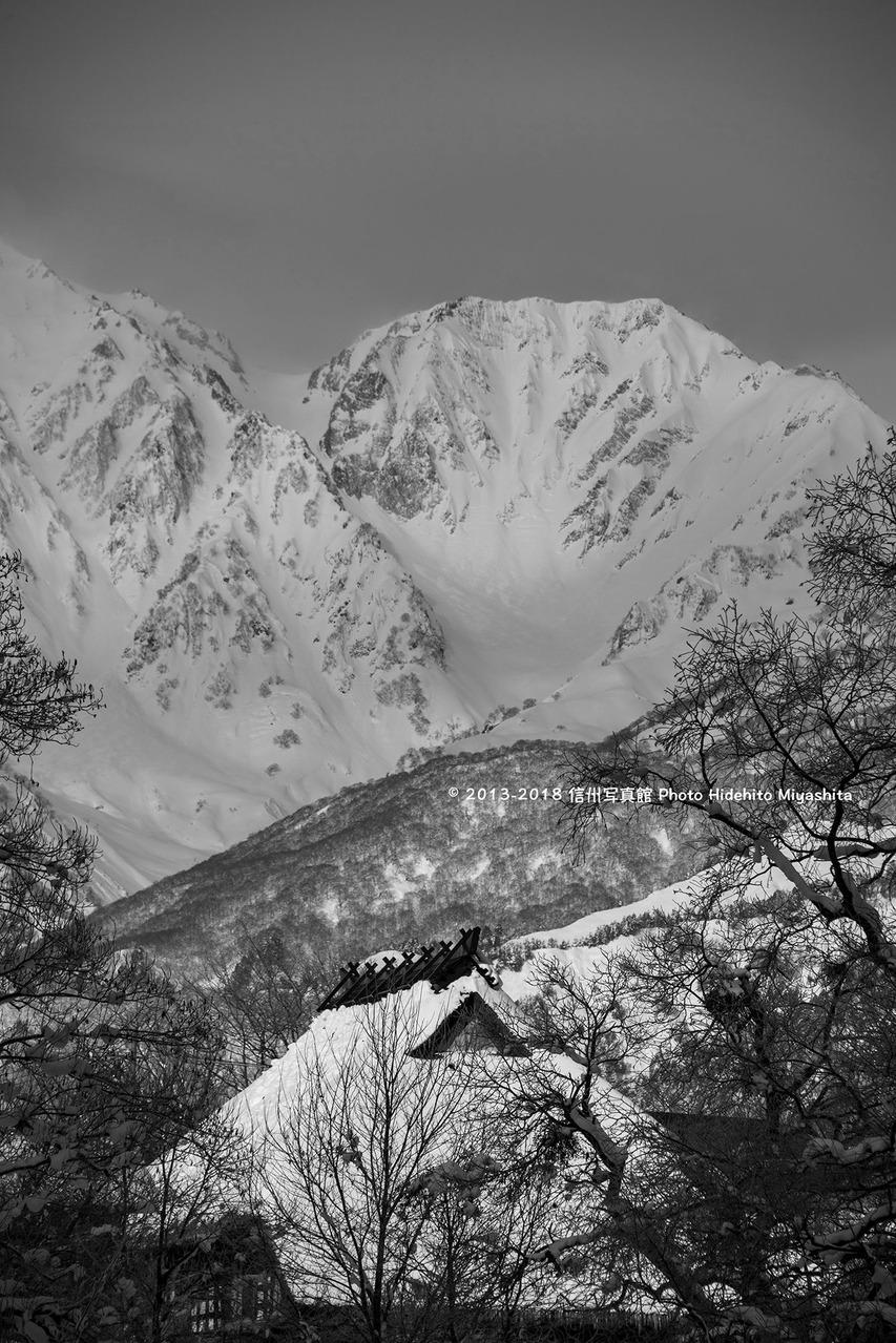 1杓子岳と茅葺20180115-_DSC1633