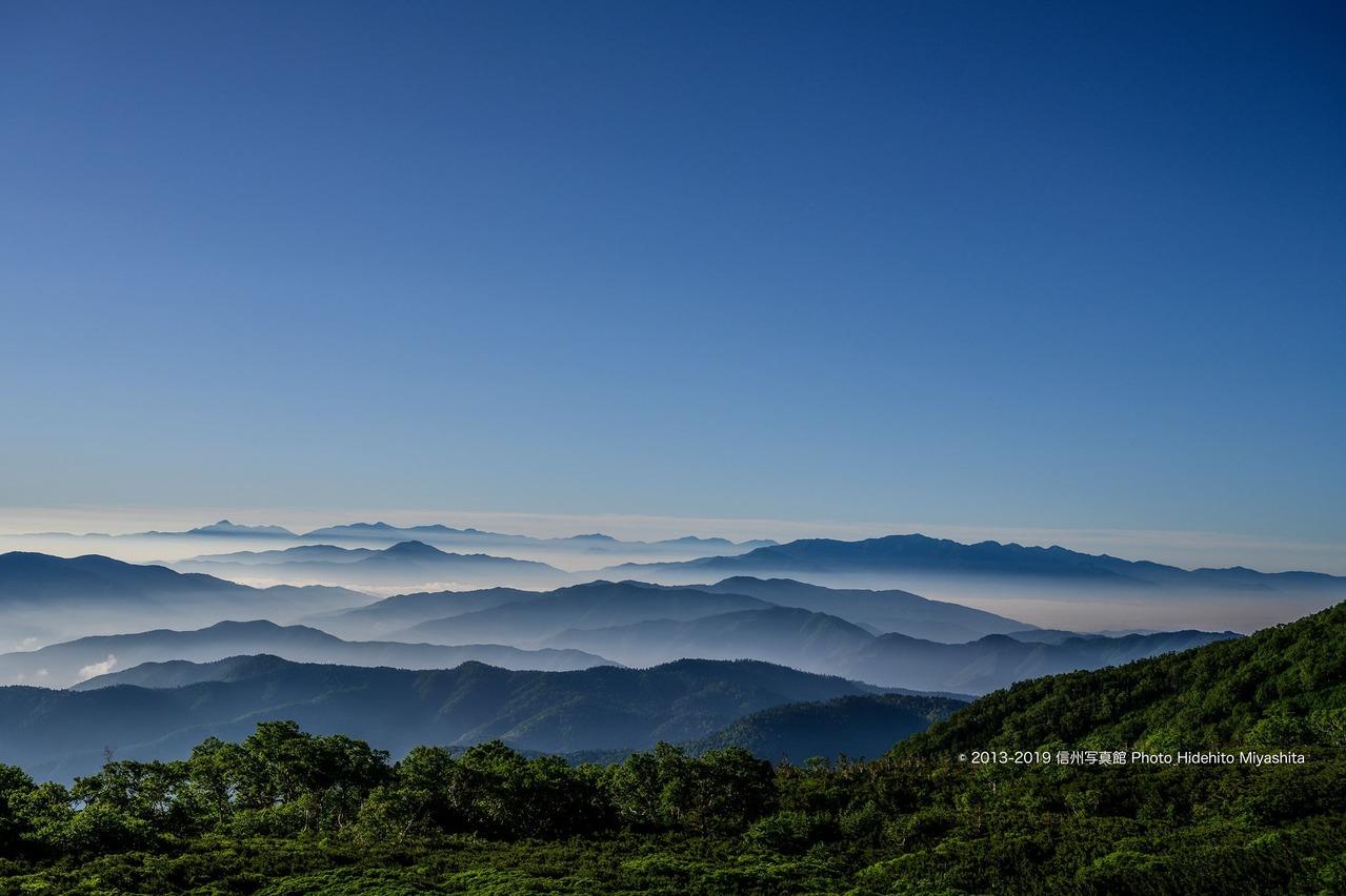 雲上の中央・南アルプス