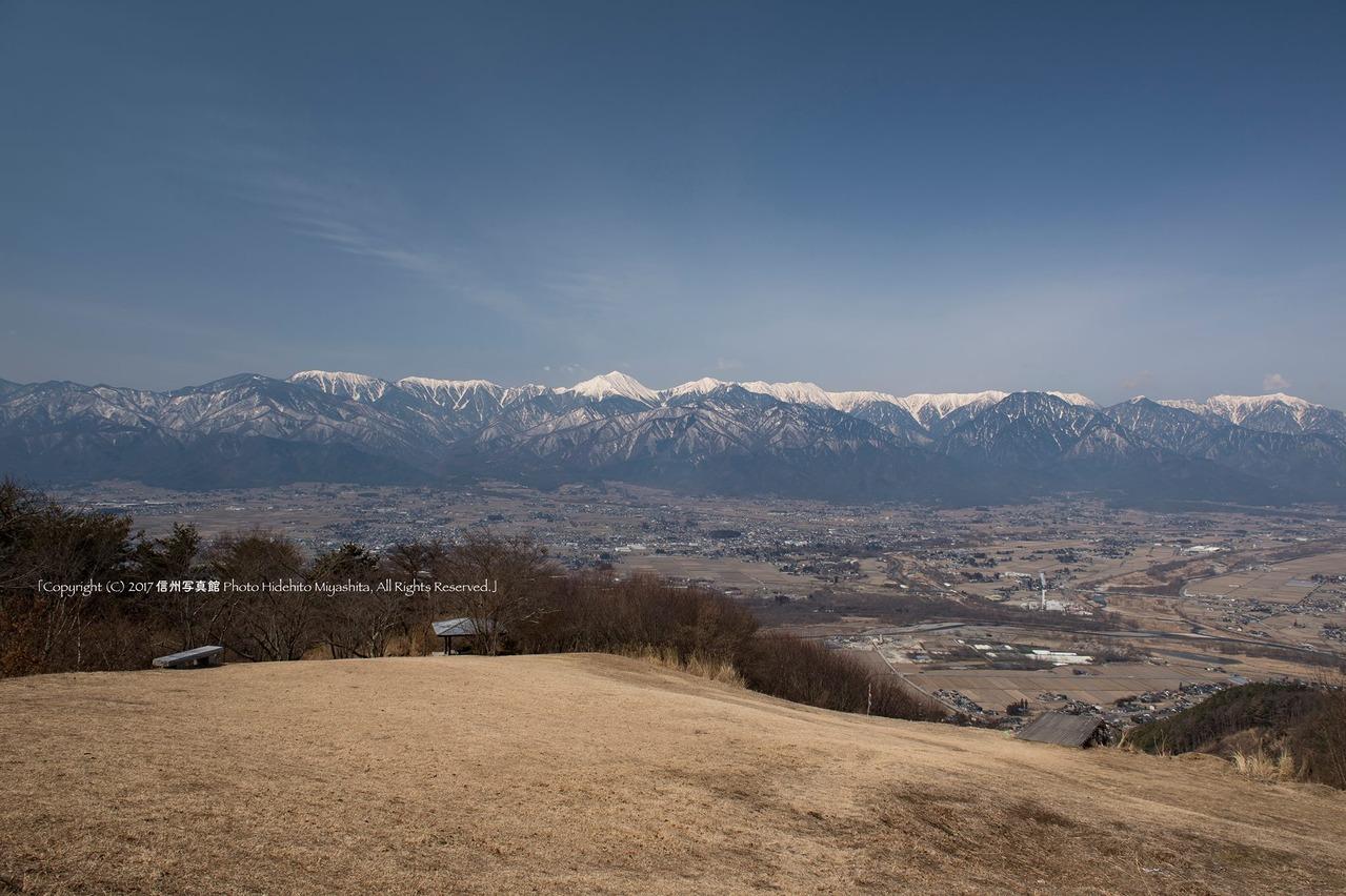常念山脈2