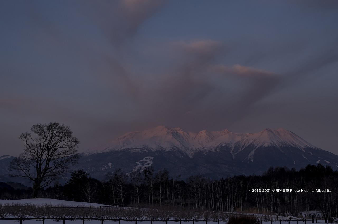御嶽山を染めて_20210207-DSC_2220