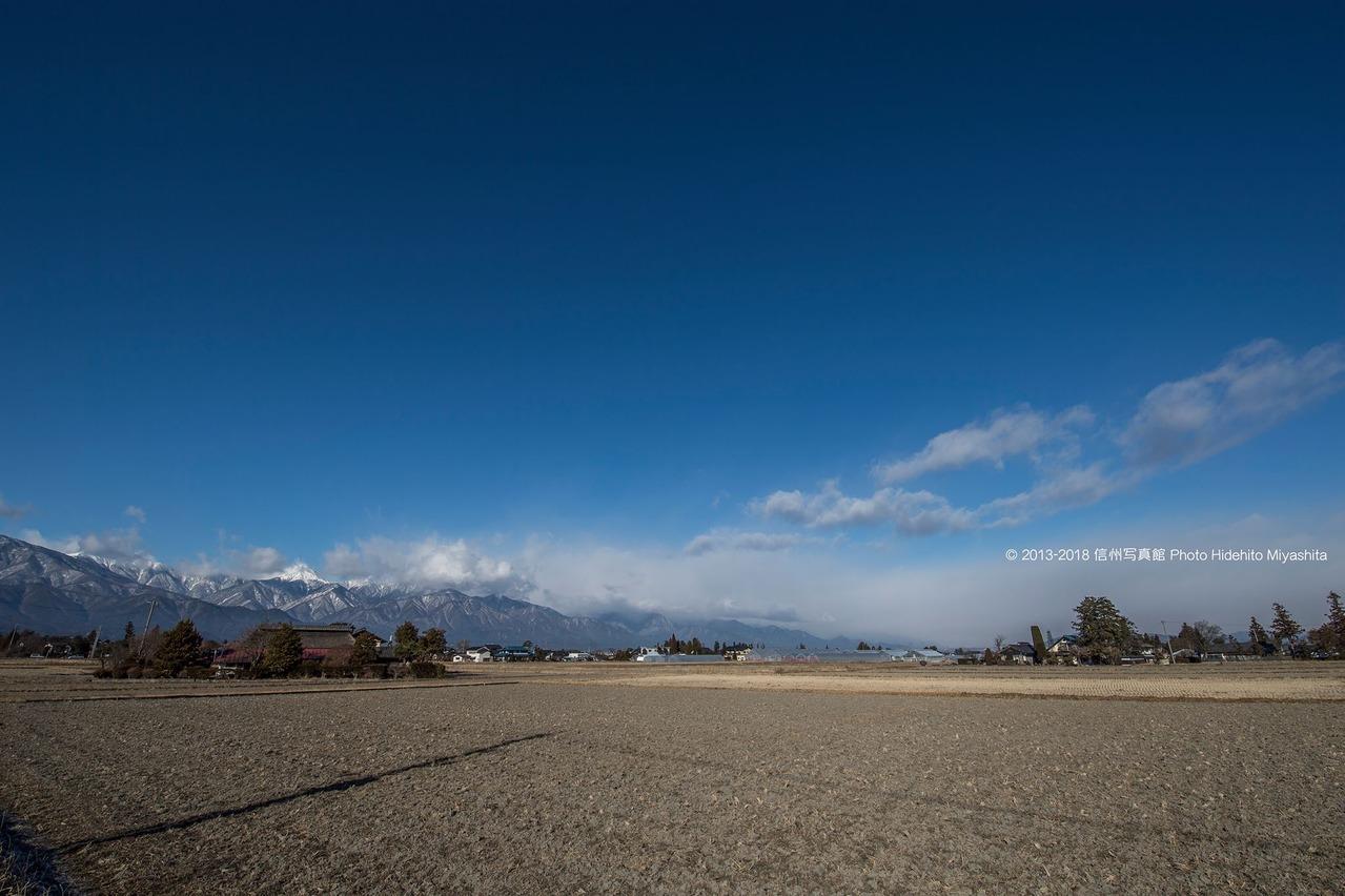 安曇野の冬空_o