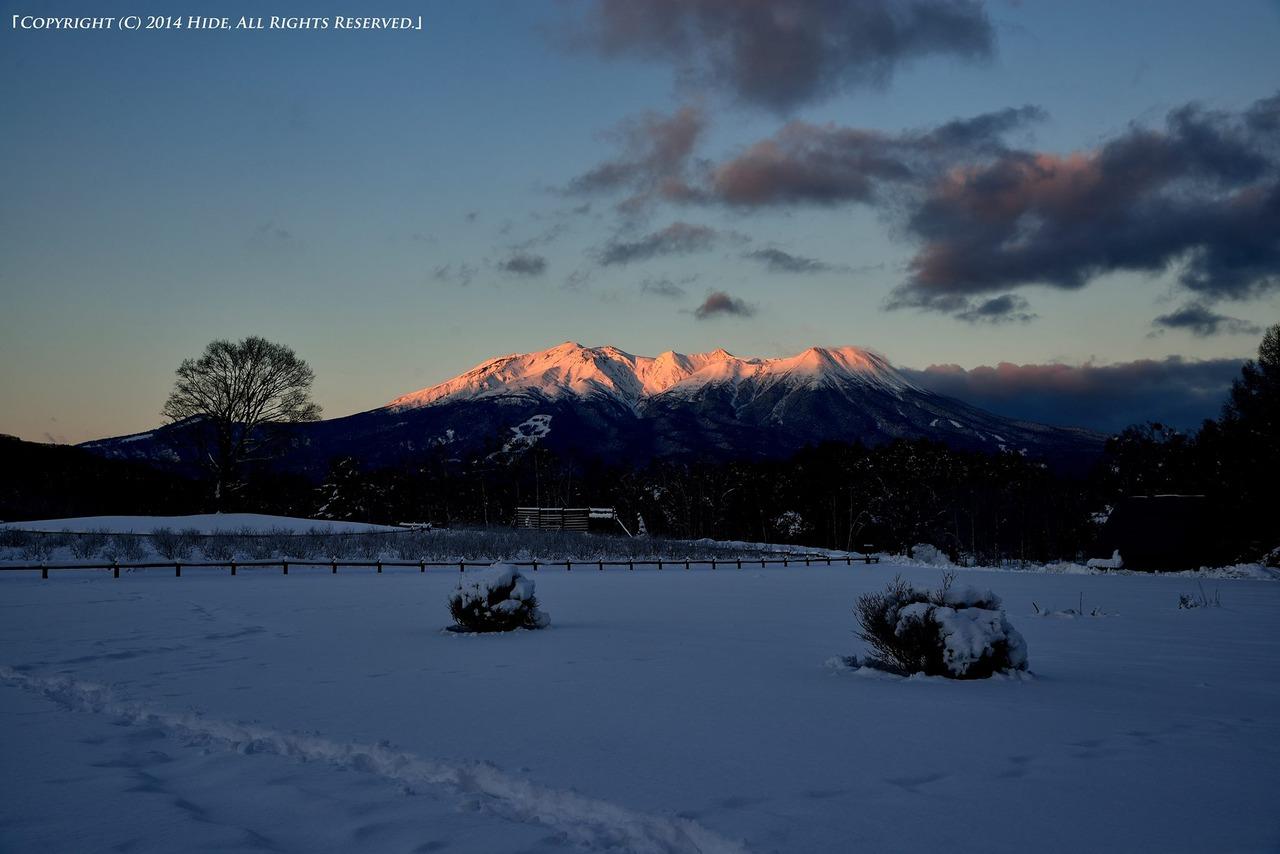 開田高原の朝