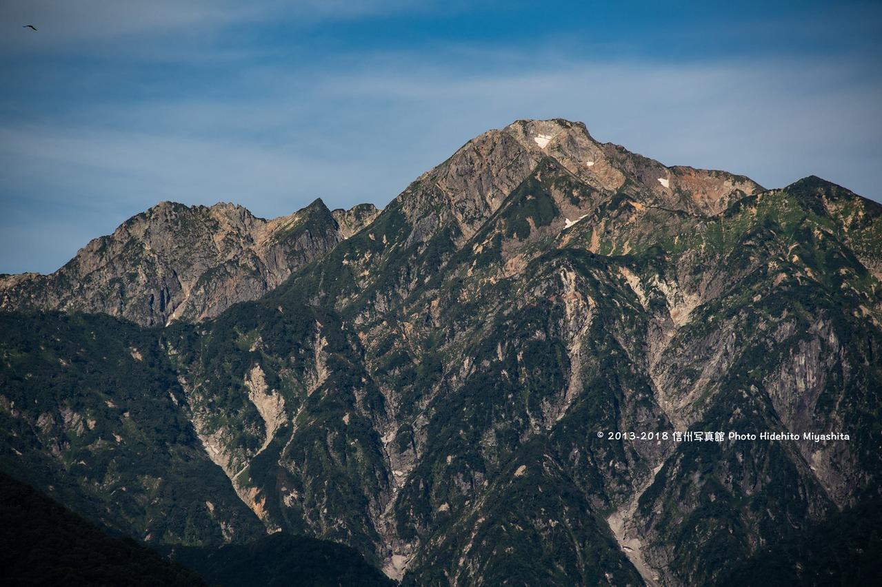 夏の五竜岳