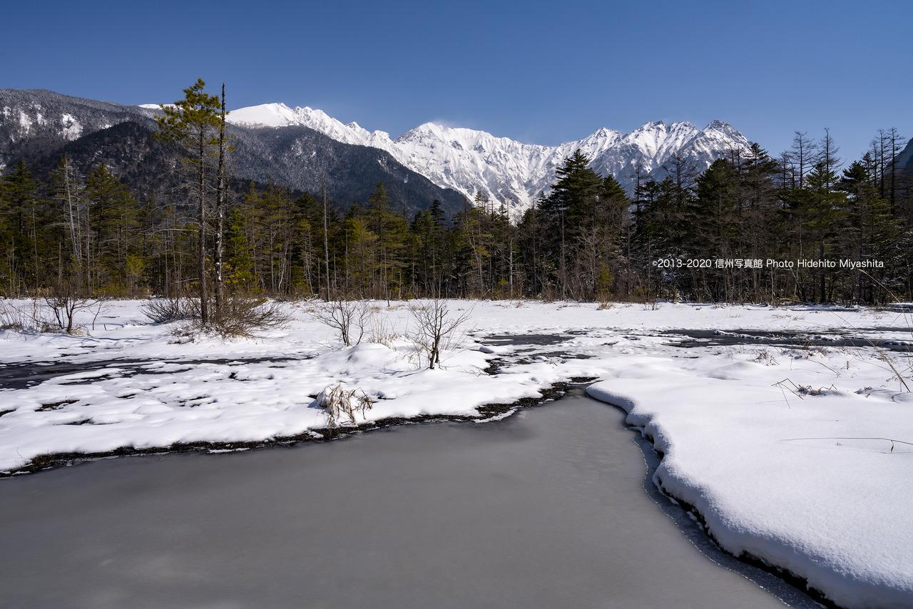 雪の積もった田代湿原_20200425-_DSC3860
