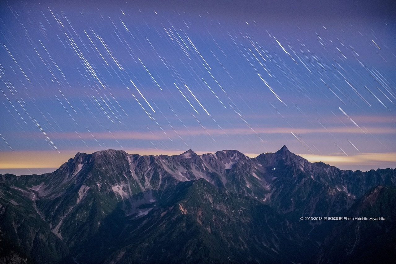 槍に降る星々