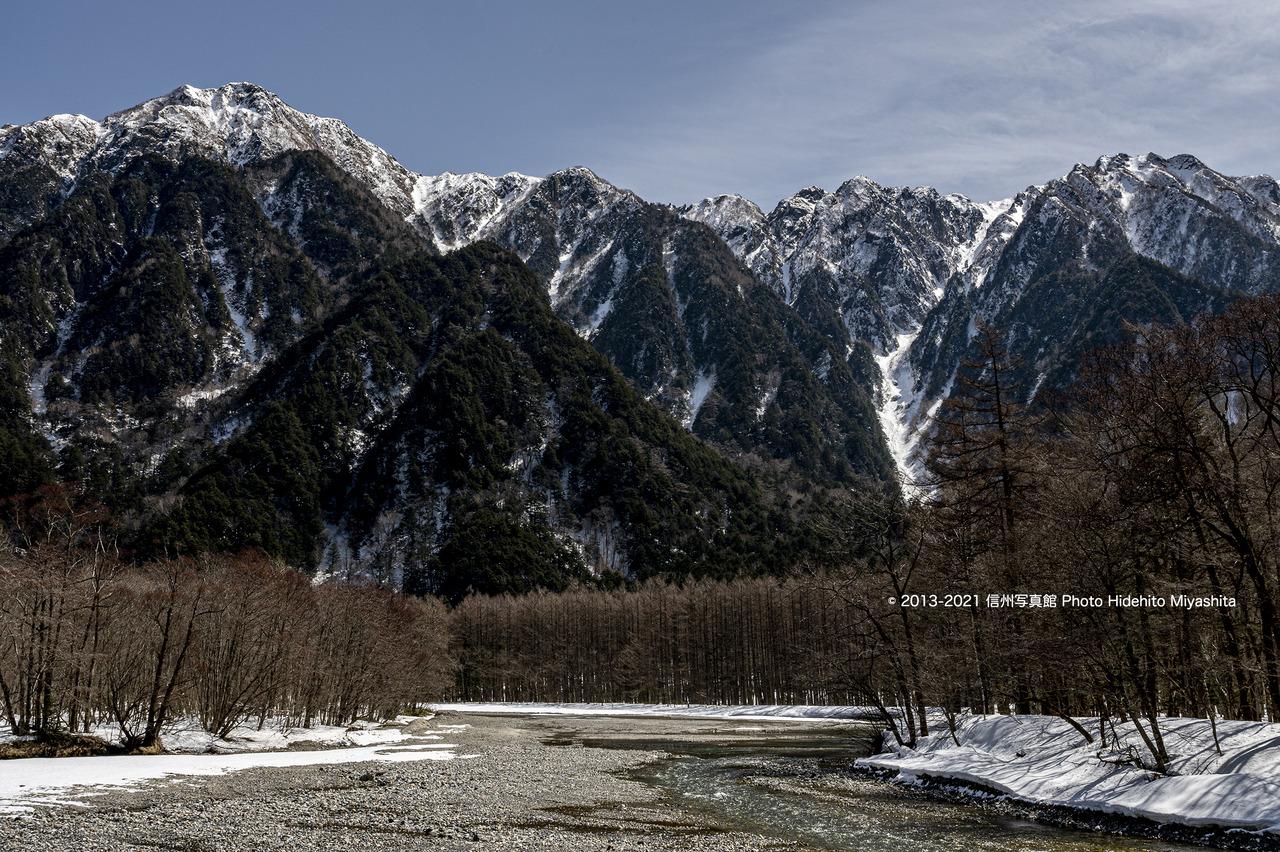 六百山と霞沢岳_20210317-_DSC1523