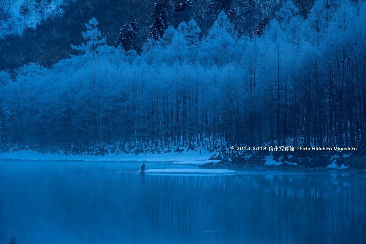大正池・冬