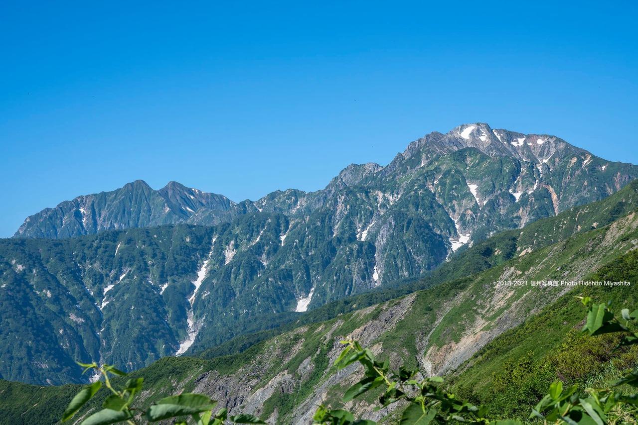 五竜岳と鹿島槍ヶ岳