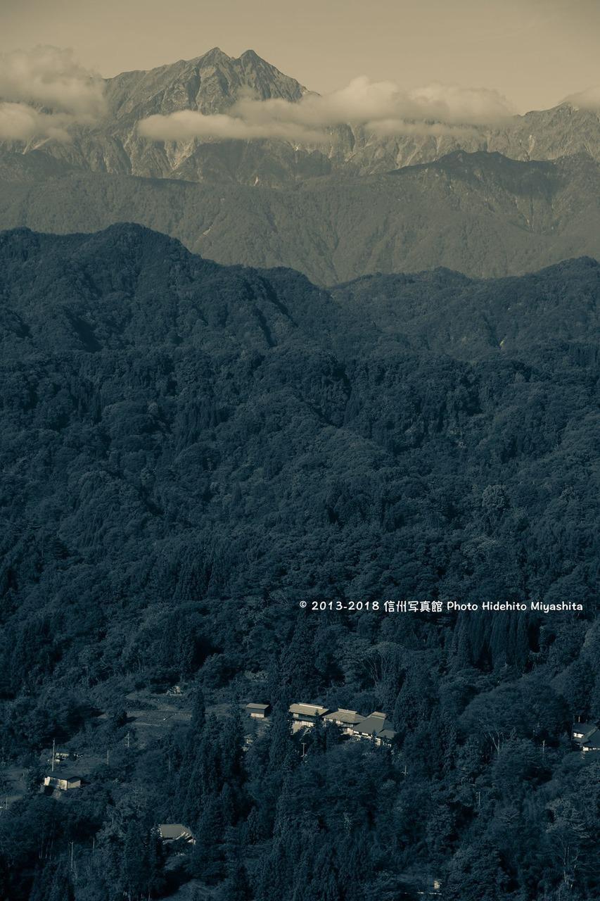 山里の集落