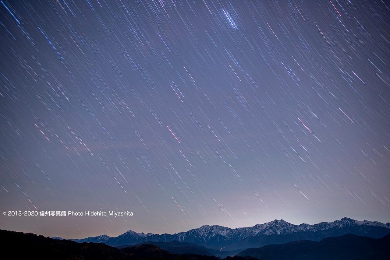星と仁科三山