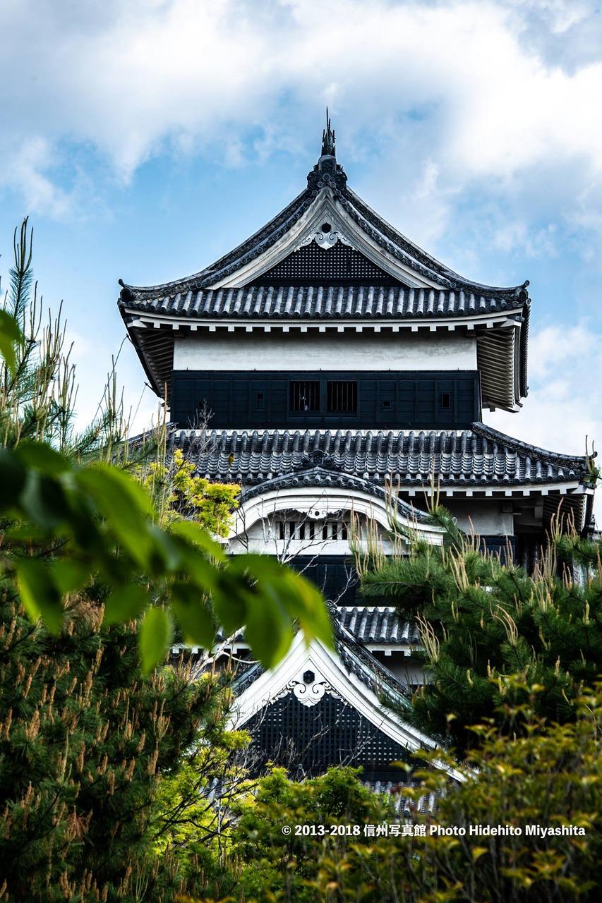 いつもと違う松本城