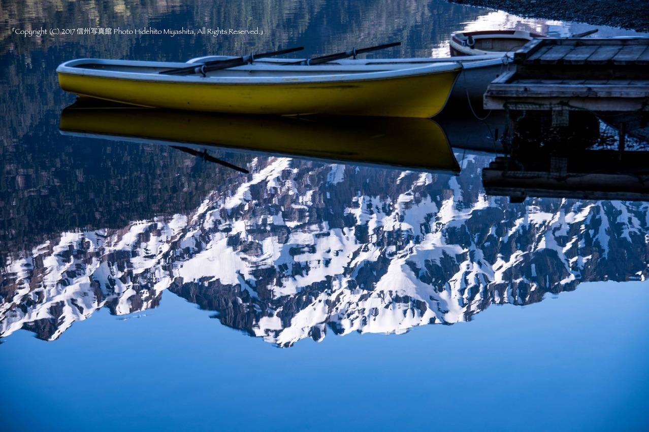 浮かぶボート