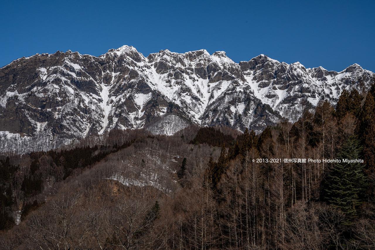 戸隠連峰 西岳