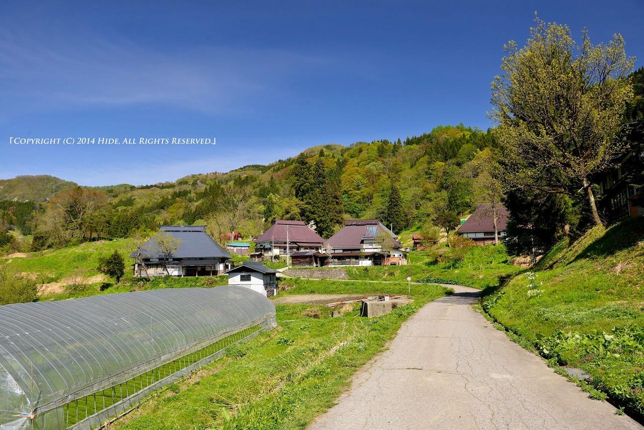 のどかな山村集落