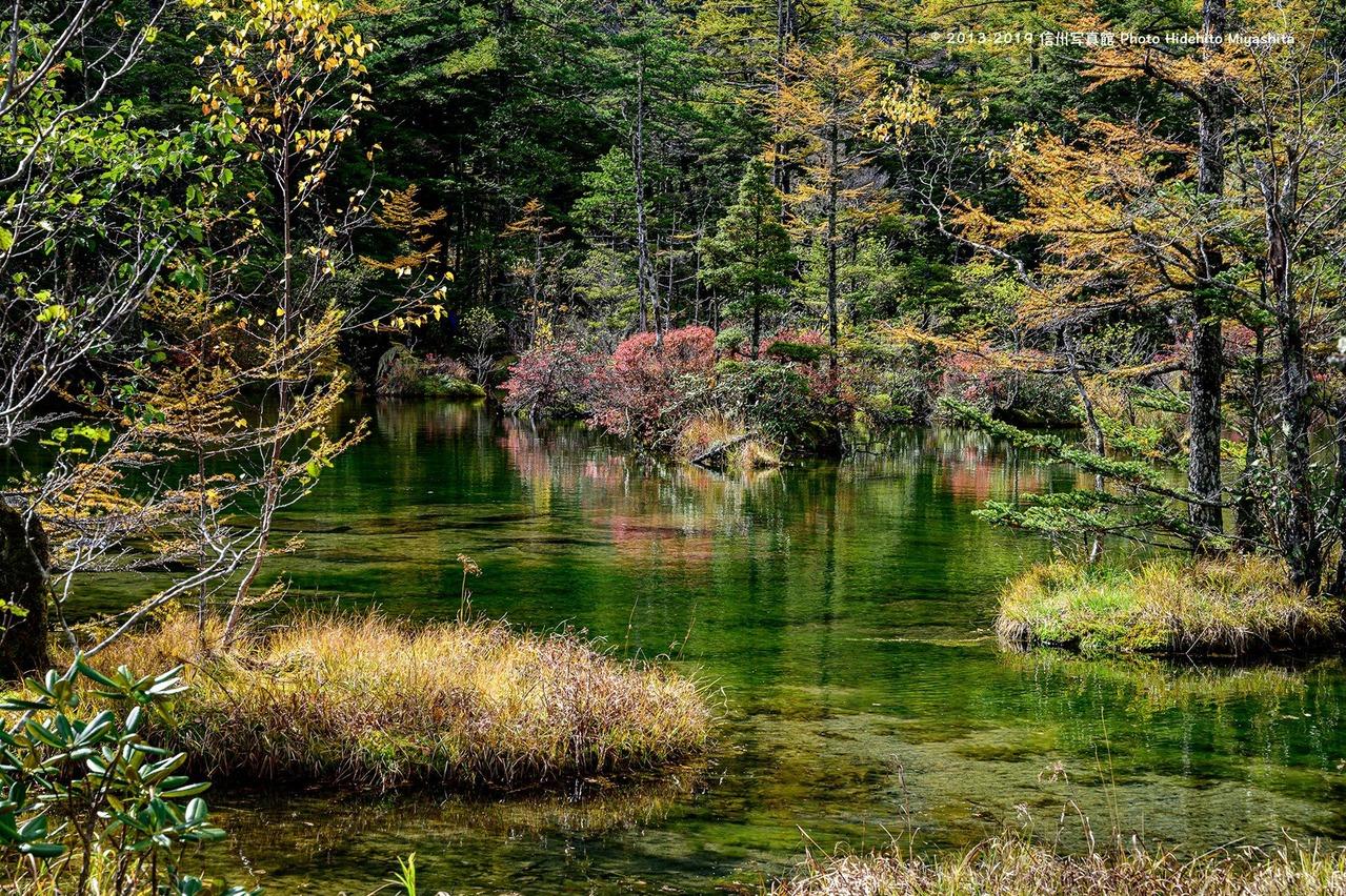 静寂明神池
