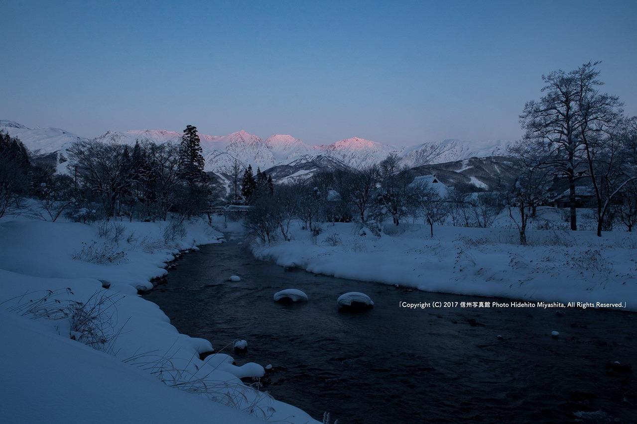 真冬の情景
