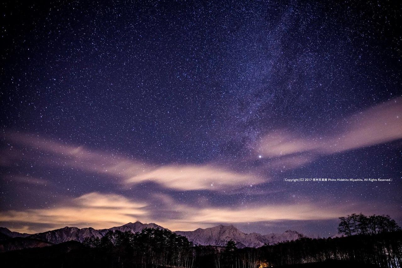 夜の高原にて…