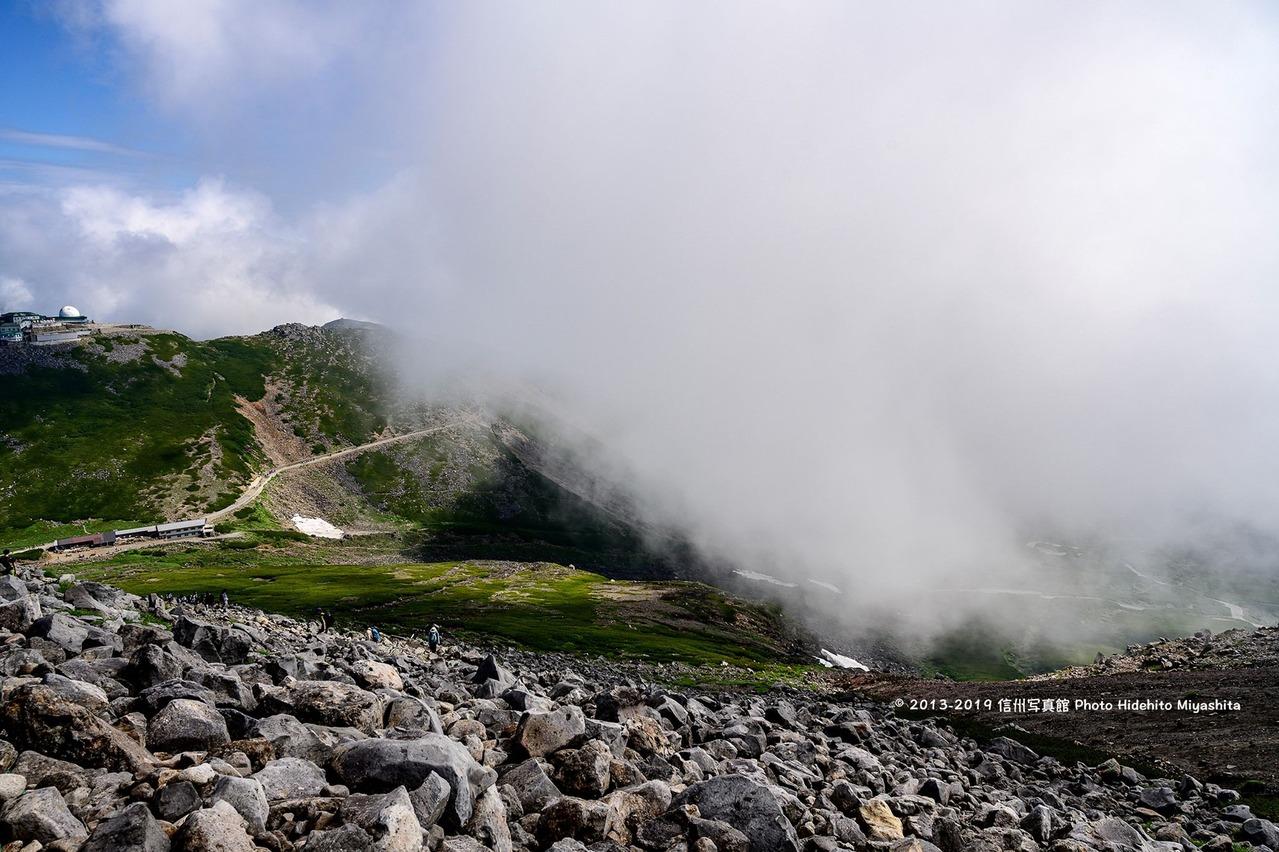 湧き出る雲