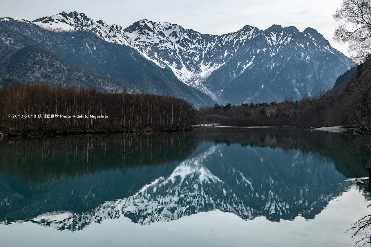 静かな大正池