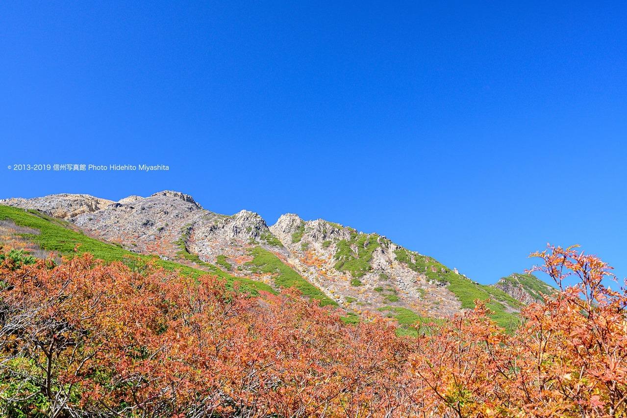 快晴の御嶽山