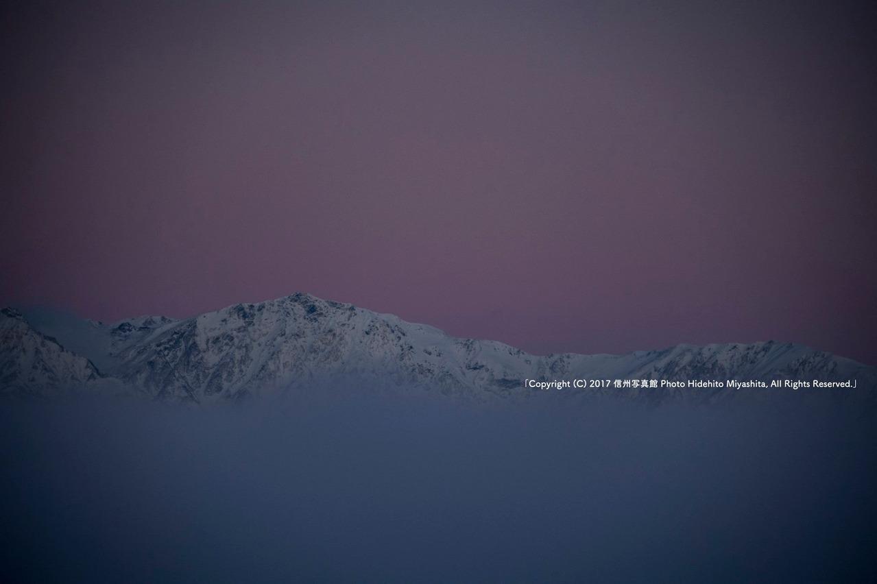 ビーナスベルトの白馬岳