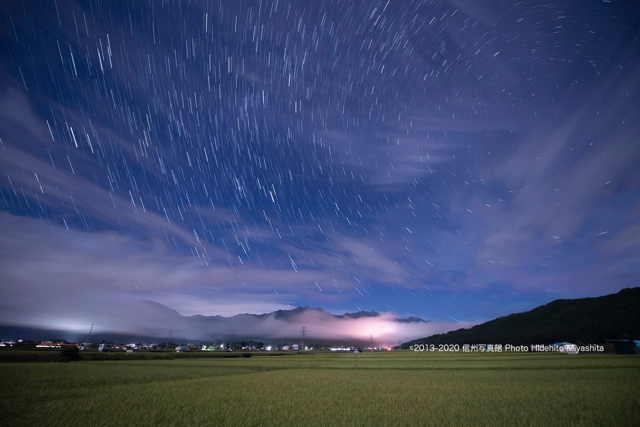 雲と星と仁科三山
