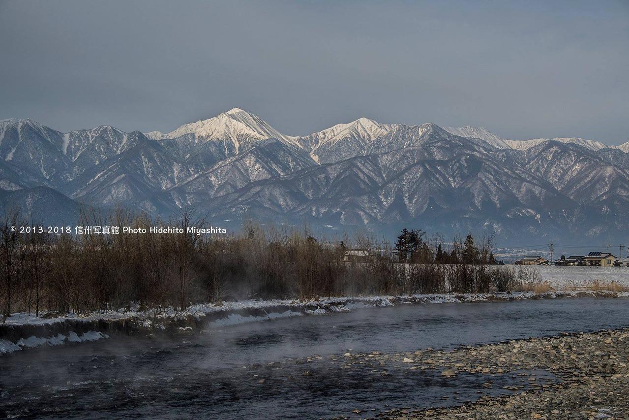 川霧立つ犀川