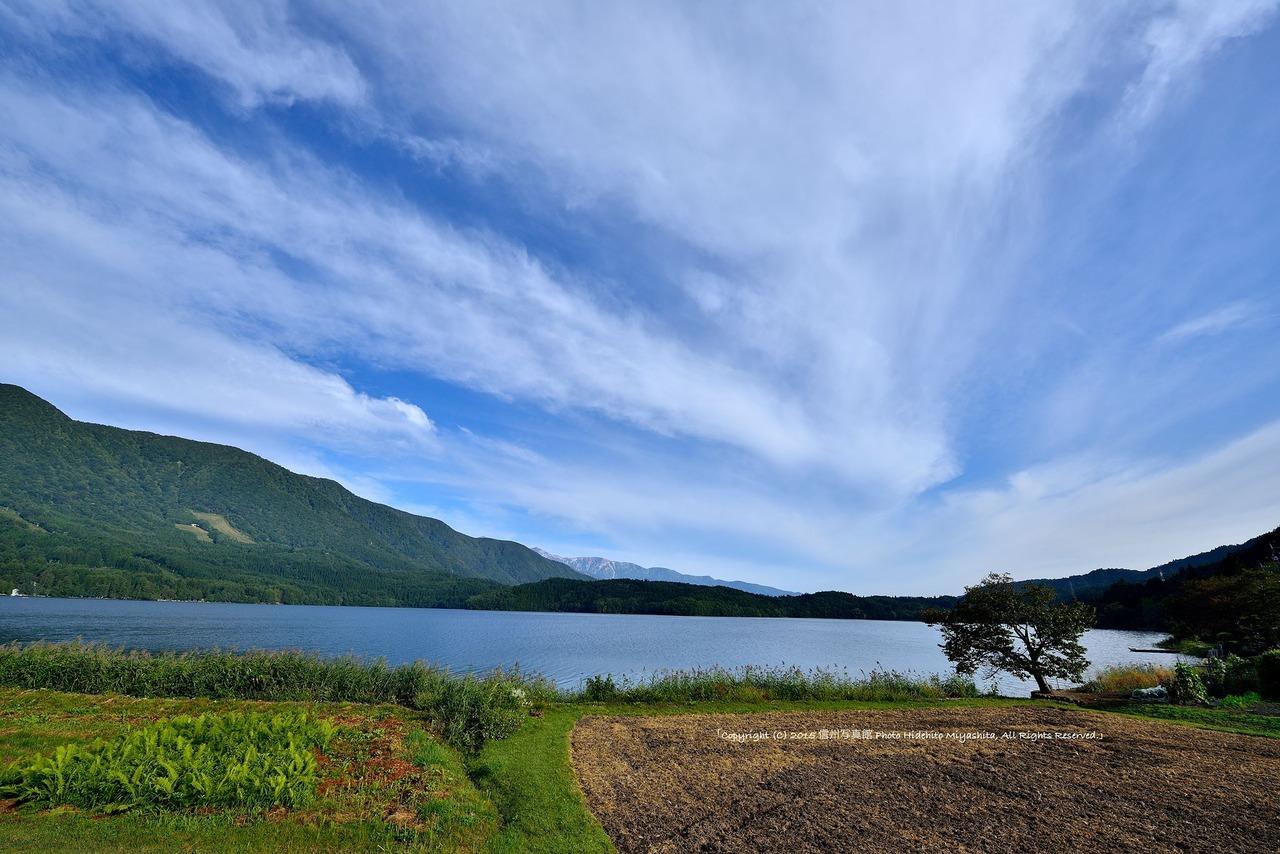 青木湖・秋