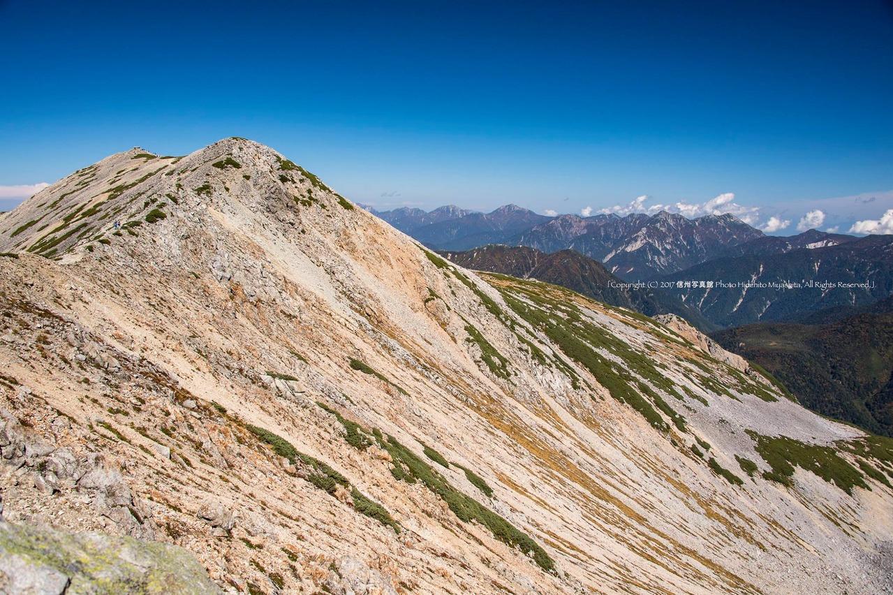 薬師岳と後立山連峰