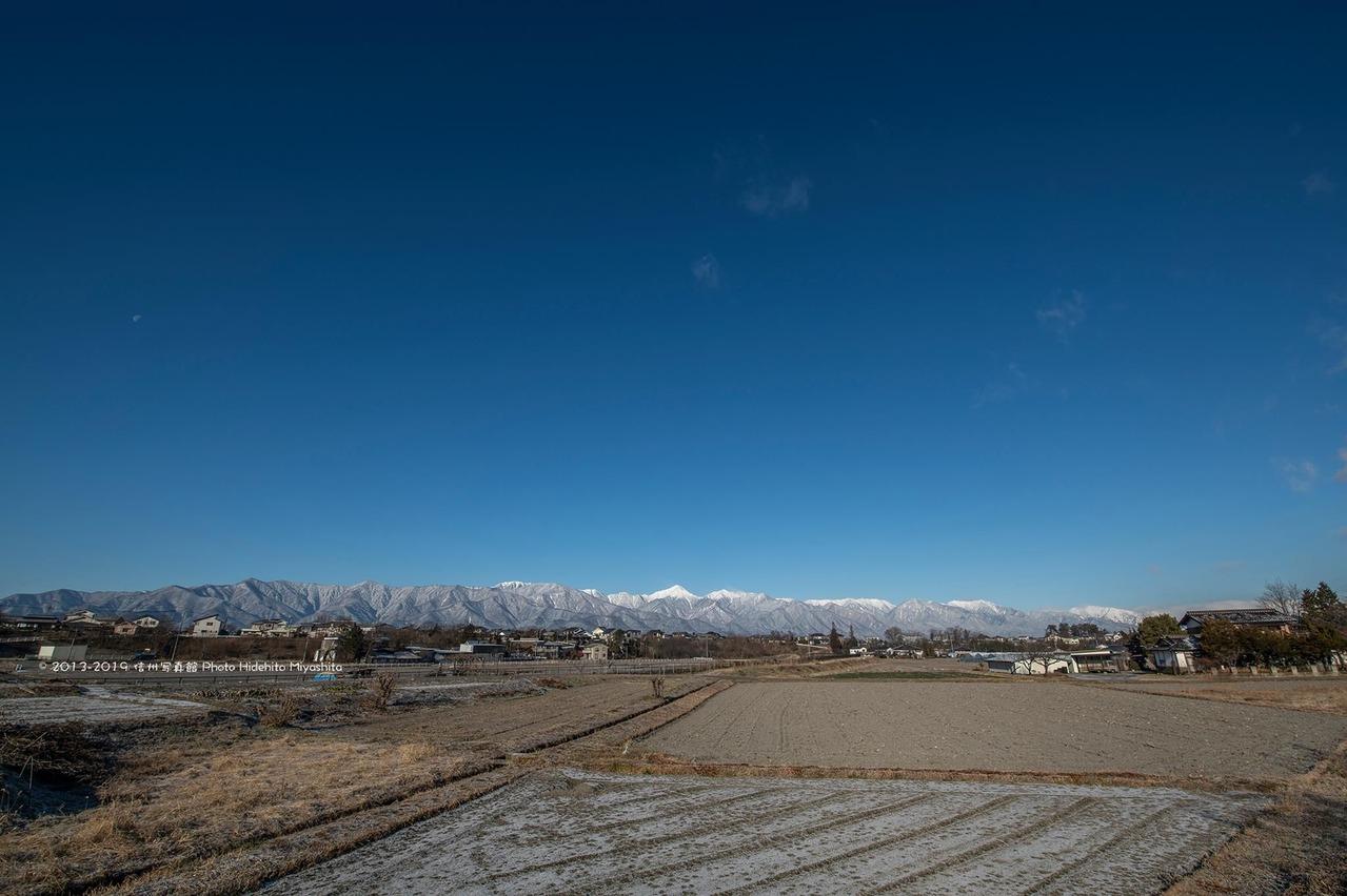 常念山脈・冬