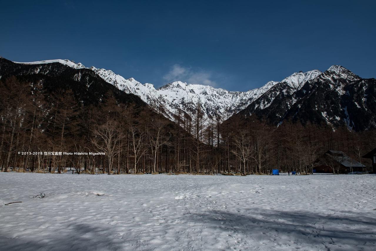 雪の上高地BT
