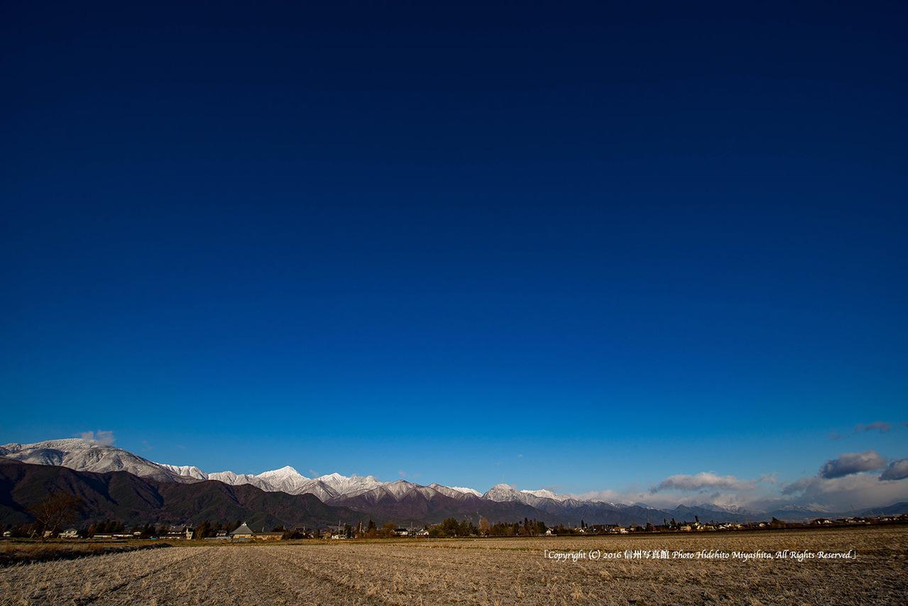安曇野の空