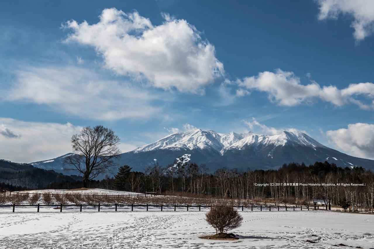 開田高原 冬