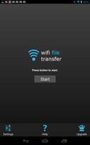 WifiFileTransfer_起動
