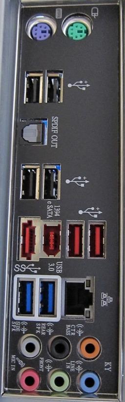P7P55D-Eバックパネル