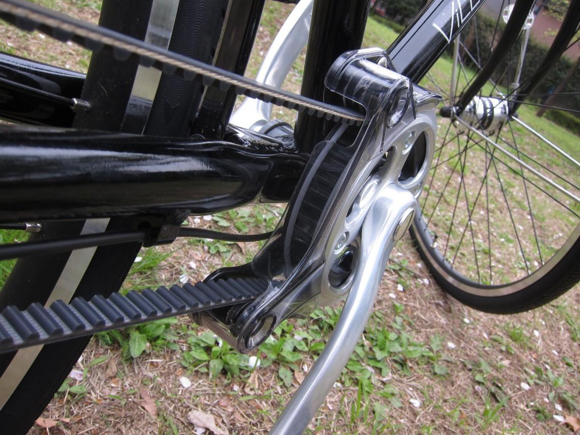 通勤仕様の自転車ビレッタを ...