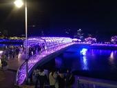 橋のライトアップ