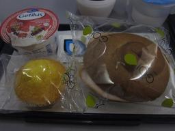 丸いサンドイッチ