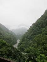 雨模様の谷